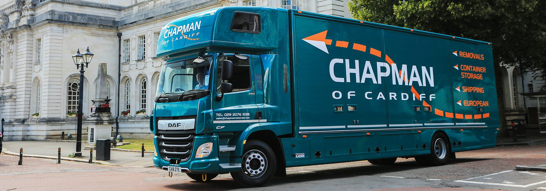 Chapman Removals Storage South Wales