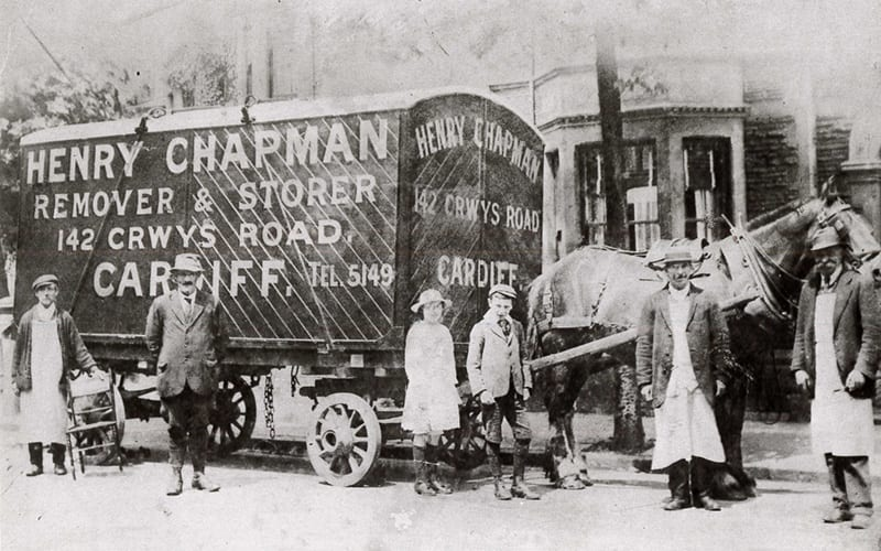 Chapman Removals Storage Our History