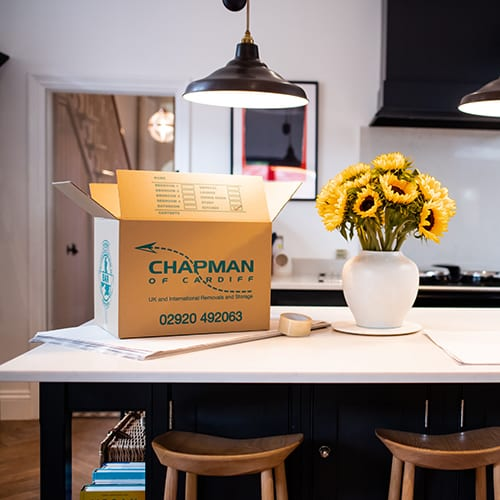 Chapman Removals and Storage Cardiff House Move
